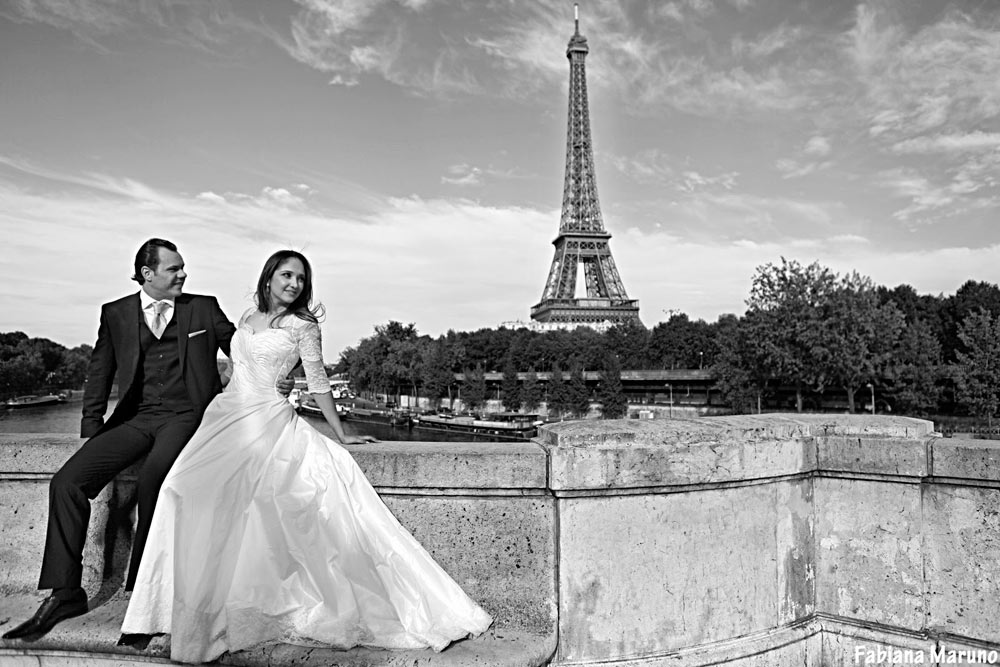 Fotos de noiva e casamento em Paris , Trash the Dress Paris
